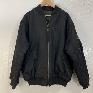 Sean Jean Puffy Reversible Bomber Jacket Mens